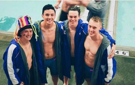 Boys Swim Diving into Finals