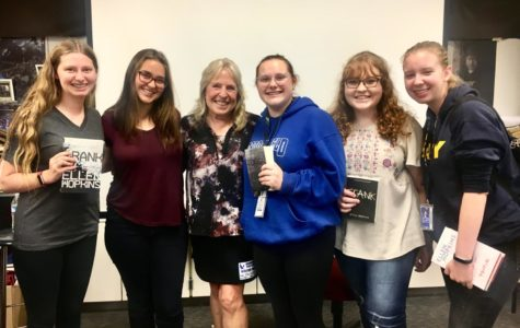 Best-Selling Author Visits BHS