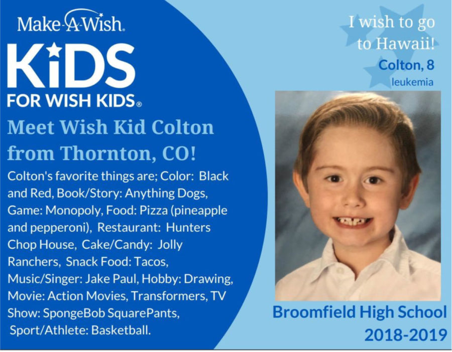 Wish Week – Broomfield Strives for $15,000