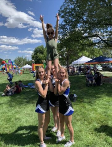 Broomfield Cheer and Daniel the Lion Day