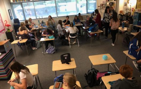 Students Crocheting for a Cause