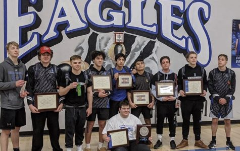 Broomfield Wrestling Finishes Second at Regionals
