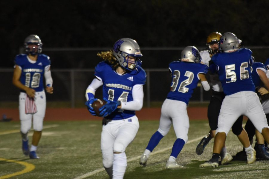 Eagles Get Their First Win in Rivalry Game