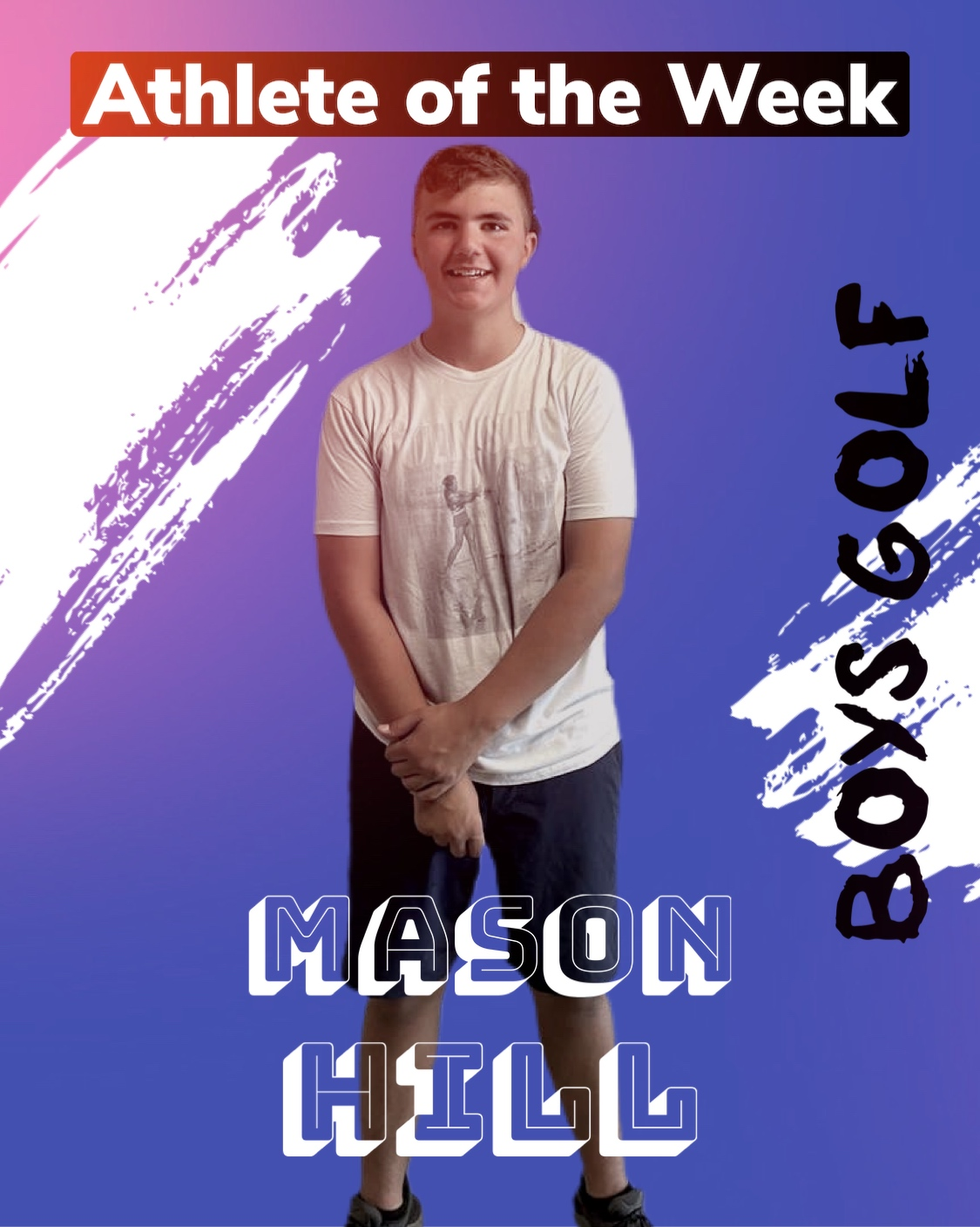 Athlete of the Week: Fast Five with Mason Hill (Sept. 20)