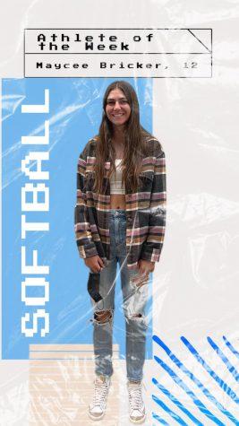 October 11-15, Athlete of the Week: Maycee Bricker.